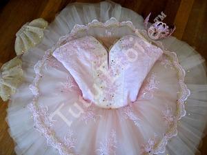 Pink and Ivory Aurora