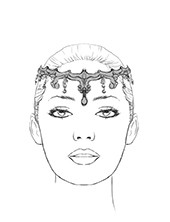 gamzatti headpiece