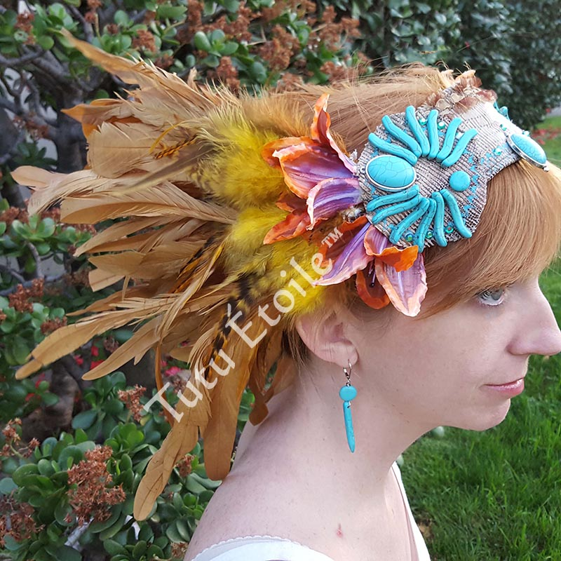 Tiger Lilly Head Piece Peter Pan